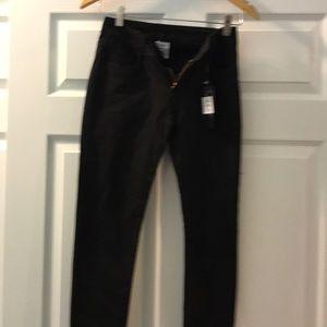 Jean stretch black pants